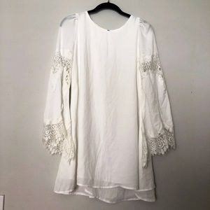 Dresses & Skirts - BELL SLEEVE LACE DRESS